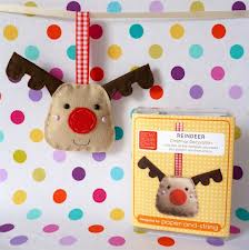 Sew your own reindeer