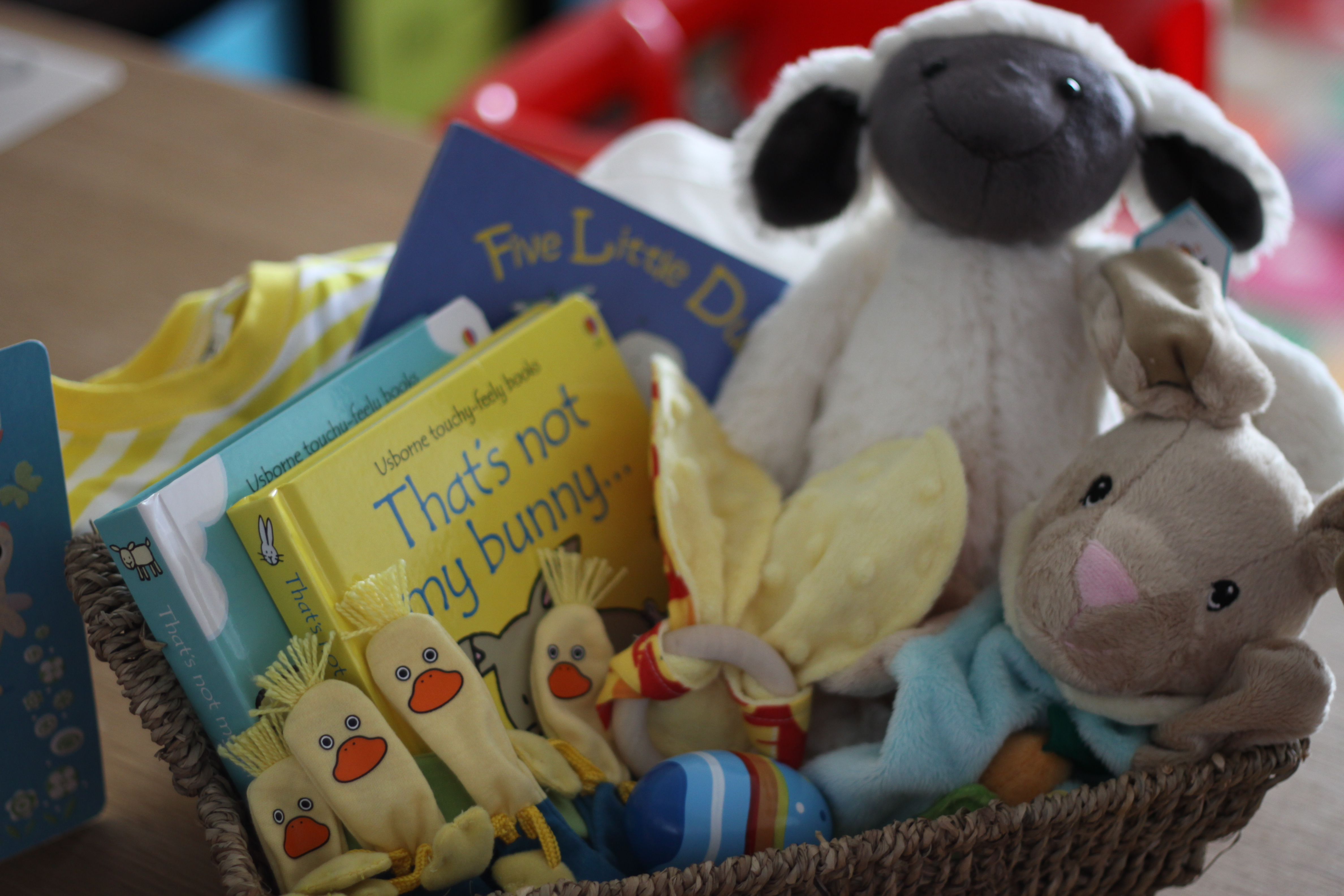 An easter basket for sebastian project mum i have written a guest blog for babysitter search on creating an easter basket for your baby and setting up a simple easter display in your home negle Image collections