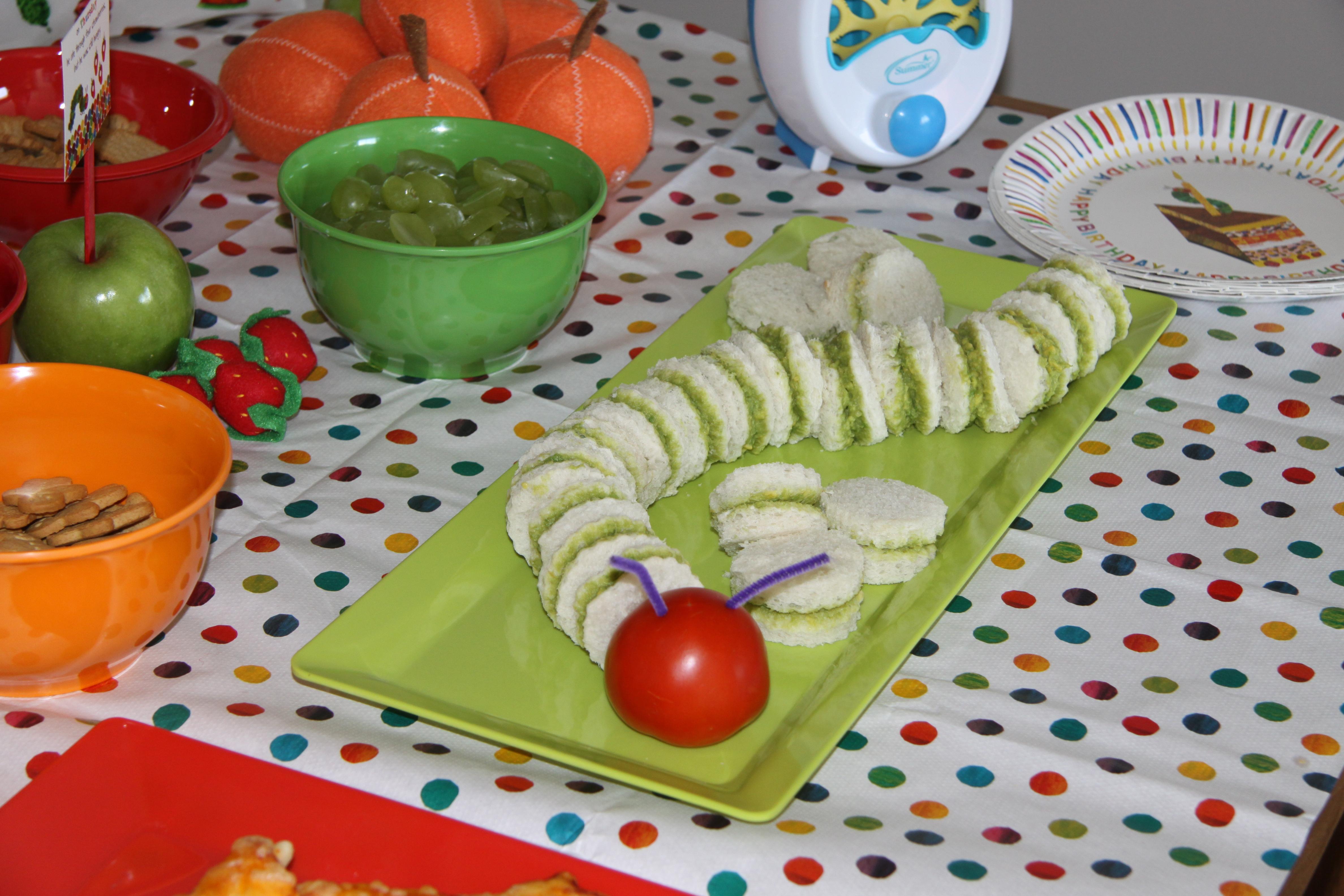 Sebastian\'s Very Hungry Caterpillar 1st Birthday Party… | Project Mum