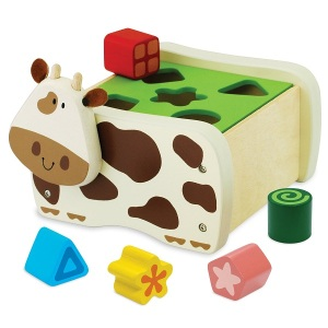 Cow Shape Sorter