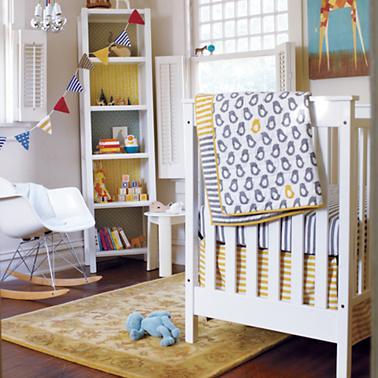 Not A Peep Crib Bedding 2 I Love The Yellow Stripe