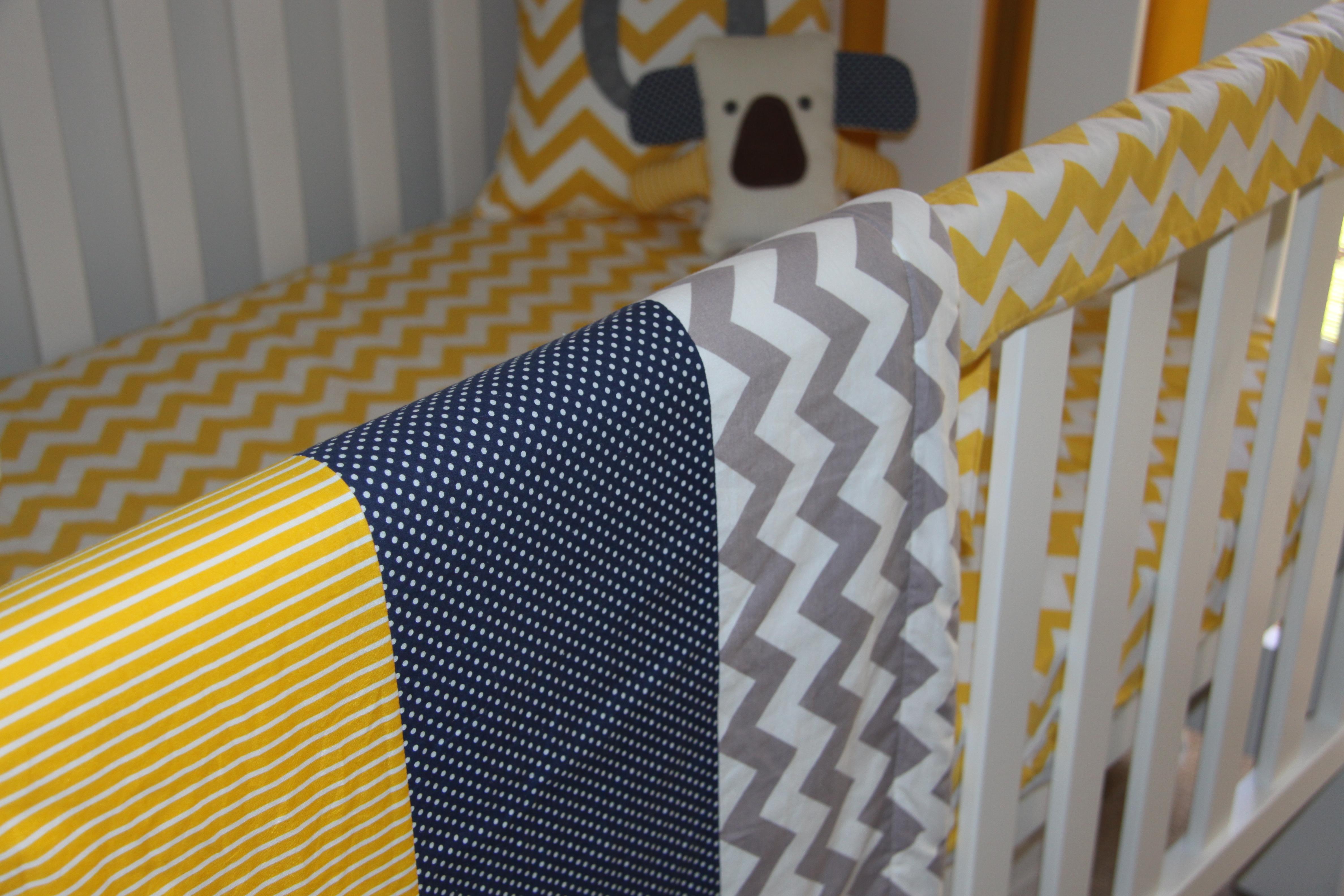 Project Nursery Part 2…Oscar\'s Yellow and Grey Chevron Nursery ...